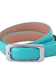 L.WEST® Women's Leather Pin Buckle Belt