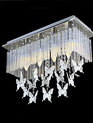 Crystal Pendant Bedroom luxury Modern Butterfly Pendant