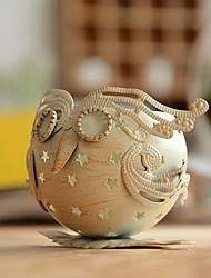 Iron Owl Retro Candlestick Morocco Classic Wedding Candlestick Candle Holder