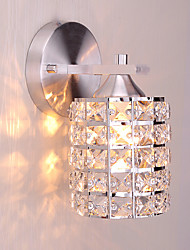 Modern Style Simplicity Wall Lights,K9 Crystal Shade Living Room Bedroom Hallway light Fixture