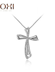 ROXI Silver Cross Pendant Necklace Jewelry