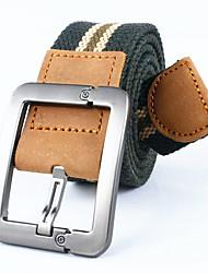 Men Canvas Waist Belt,Work / Casual Alloy