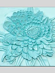 3D-Canvas-Material Ölgemälde Blume Stil mit gestreckten Rahmen bereit Größe zu hängen 55 * 55cm