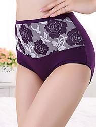 Para Mujer Bragas Panti Modelador-Algodón