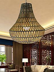 12W Vintage LED Others Meta&Rope Pendant Lights Living Room / Bedroom / Dining Room / Study Room/Office / Hallway
