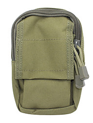 M3 600D Outdoor Multifunctional Water-Resistant Nylon Waist Bag - Army Green
