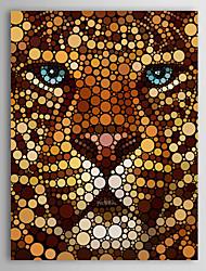 Animal Impressão em tela Um Painel Pronto para pendurar,Vertical