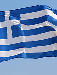 National Fabric Greece Flag for EURO World Cup Olympics 90*159cm