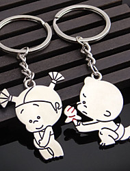 A Pair Zinc Alloy Silver Plated Marry Me Bride And Groom Couples Keychain Fashion Keyring Key Fob Creative Key Chain