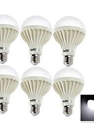 Ampoules Globe LED Décorative Blanc Froid YouOKLight 6 pièces B E26/E27 5W 9 SMD 5630 400 LM AC 100-240 V