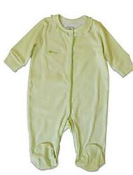 Mono Chica de-Primavera-Algodón-Verde