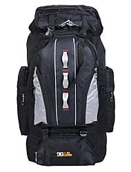 90 L Organizzatore di viaggio / zaino / Zaino per escursioni / Zaini da escursionismo / Zaini Laptop / Viaggi DuffelCampeggio e hiking /