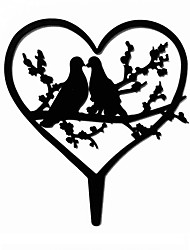 Love Bird Wedding Cake Topper