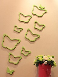 5set Wall Stick Butterfly Wall A Variety Of Color Tv Setting Wall Stickers