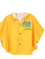 Girl's Blue / Red / Yellow Trench Coat,Cartoon Nylon All Seasons