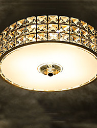 The Golden LED Crystal lamp lamp Entrance Hall Aisle Corridor Balcony Ceiling lamps