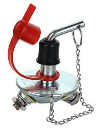 jtron 12-24V 200a bateria interruptor de corte para o carro / barco - (prata&vermelho)