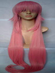 High Quality Pink Cosplay Wig Super Long Straight Animated Synthetic Hair Wigs Woman's Wigs Party Wig