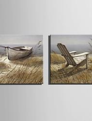 mini-pintura a óleo tamanho e-casa moderna costa paisagem puro mão desenhar pintura decorativa frameless