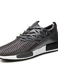 Summer Autumn Men's Deodorant Breathable Mesh Running Shoes for Casual Style Man's Lace-up Trainer/Sneakers
