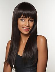 hübsche Afroamerikaner Frisur remy Menschenhaar natürliche schwarze Perücke capless Frau