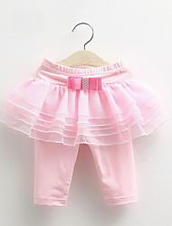 BK Children Culottes Leggings Flounced 2016 Summer Korean New Kids Clothing Girls Pants