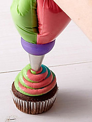 Three Colors Pastry Decoration Tube
