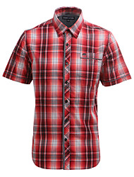 JamesEarl Herren Hemdkragen Kurze Ärmel Shirt & Bluse Rot - DA102006312