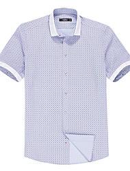 China famous Seven brand summer mens shirts short sleeve man shirt thin 100% cotton All-Purpose Style shirts man shirt