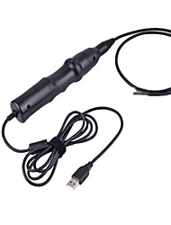 5.5mm Waterproof USB Wired Borescope Snake Tube Endoscope 6-LED with Accessories