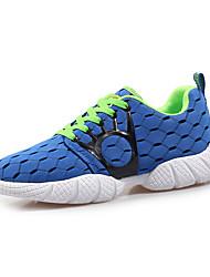Zapatos de Hombre-Sneakers a la Moda-Exterior / Casual / Deporte-Tul-Negro / Azul Real / 1 #