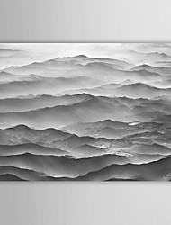 Landscape Photography Ocean Mountains by Ben Heine Canvas Print From Ready to Hang 7 Wall Arts®