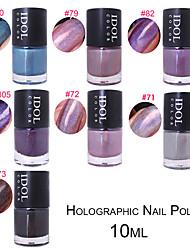 Rainbow Laser Nail Polish Nail Polish 10Ml Holo