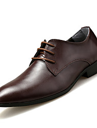 Men's Shoes Casual Oxfords Black / Brown / White