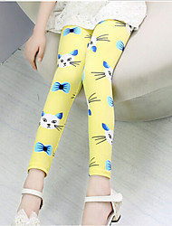 Girl's Pants,Cotton All Seasons Blue / Pink / Yellow
