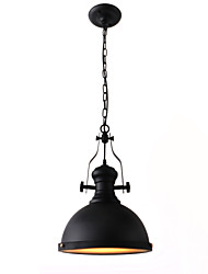 Pendant Light ,  Vintage Painting Feature for Mini Style Metal Dining Room Study Room/Office Game Room Garage
