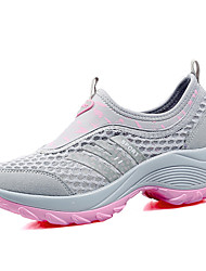 Women's Shoes Casual/Dress/Outdoor/Running Fashion Tulle Leather Sneakers Slip-on Shoes Multicolor 35-40