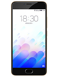 """MEIZU Meizu m3 5.0 """" Flyme OS 4G Smartphone (Dual SIM Octa Core 13 MP 2GB + 16 GB White)"""