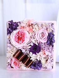 roze Austin rozen bewaard verse bloemen moederdag aanwezig