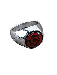 Schmuck Inspiriert von Naruto Cosplay Anime Cosplay Accessoires Ring Rot Legierung Mann