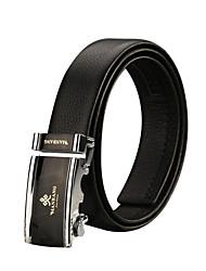 Men Calfskin Waist Belt , Party / Work / Casual Alloy