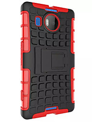 Hybrid Impact Armor Rugged Case Stand Cover for Nokia Lumia 950 Case for Nokia 950 Case