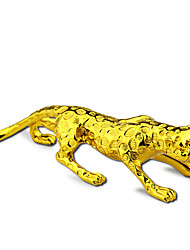 Golden Leopard Cartoon Car Decoration