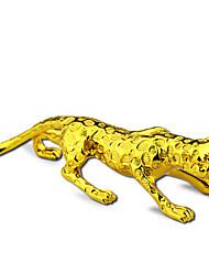 Goldener Leopard Cartoon Autodekoration