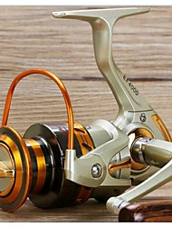 Molinetes Rotativos 5.5:1 10 Rolamentos Trocável Rotação - EF1000 / EF2000 / EF3000 N/A