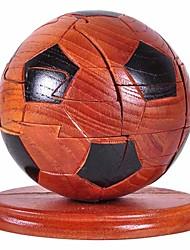 Пазлы 3D пазлы / Деревянные пазлы Строительные блоки DIY игрушки Футбол Дерево Серебристый / черный увядает Модели и конструкторы
