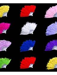 Ventoinhas Portáteis(Vermelho / Rosa / Branco / Lilás / Verde / Azul / Preto / Amarelo) -Ventoinha Portátil Clássica-Pano- dePlástico