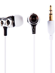 Estéreo de 3,5 mm in-ear fone de ouvido earbuds auscultadores PX-618 para iPod / iPad / iPhone / mp3
