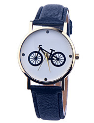 Vintage Watch Bicycle Leather Watch Womens Watch Ladies Watch Mens Watch Unisex Watch