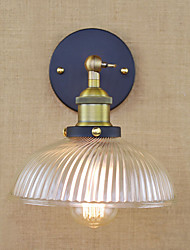 Decorative Glass Wall Sconce